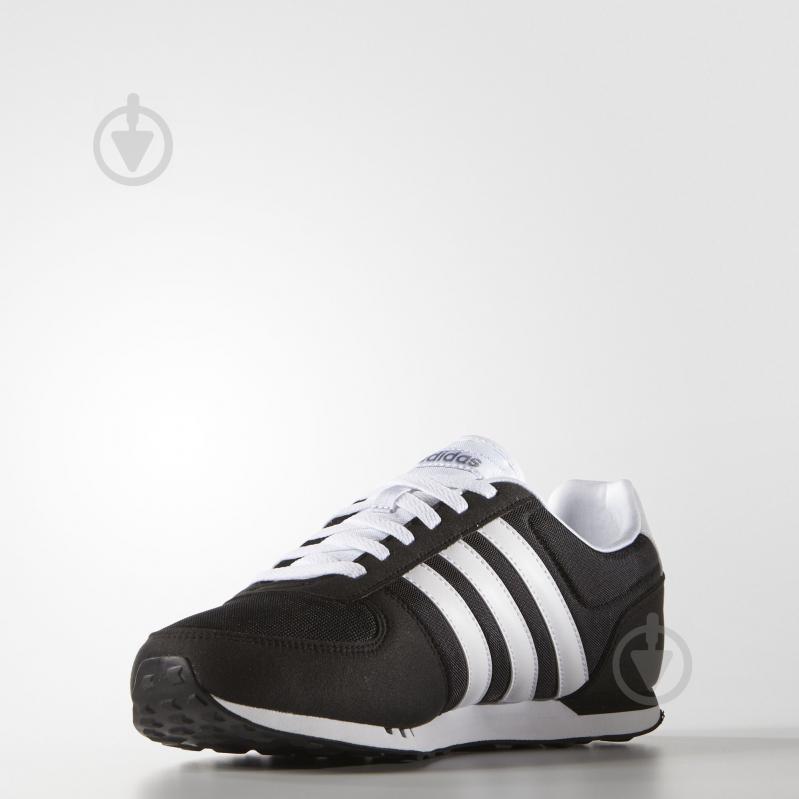 Кроссовки Adidas NEO CITY RACER 17 F99329 р.7,5 черный - фото 4