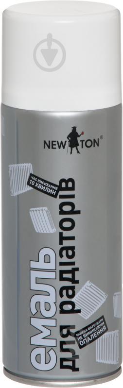 Емаль аерозольна для радіаторів New Ton білий 400 мл - фото 1
