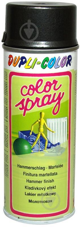 Емаль аерозольна Hammerfinish Dupli-Color антрацитовий 400 мл - фото 1