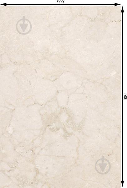 Плитка Golden Tile Інфініті бежевий 3Д1051 20x30 - фото 3
