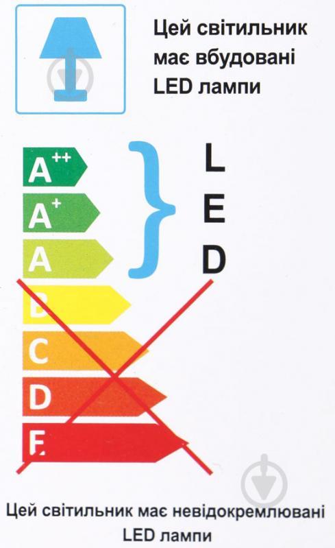 Світильник стельовий Accento lighting Crocus ALKK-K62039-3 40 Вт білий - фото 4