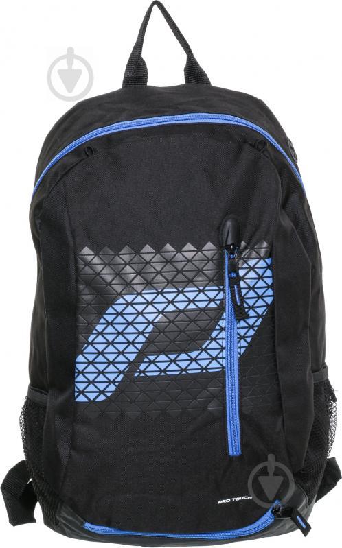 Рюкзак Pro Touch Force Backpack FW1617 36 л чорний із синім 244010-901050 - фото 1
