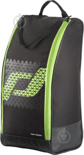 Спортивна сумка Pro Touch FORCE shoe bag 244019-902050 чорний із зеленим - фото 1