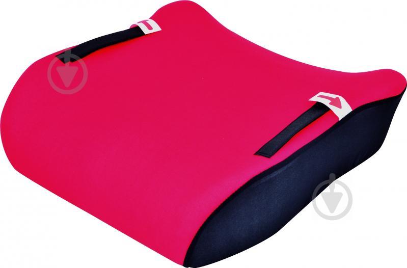 Автокрісло-бустер Sena «Junior» GR 2,3 15-36 кг червоний із чорними вставками - фото 1