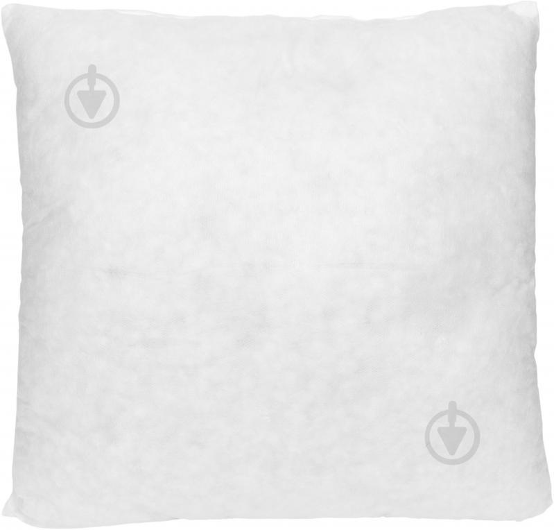 Подушка декоративная спандбонд 40x40 см белый - фото 1