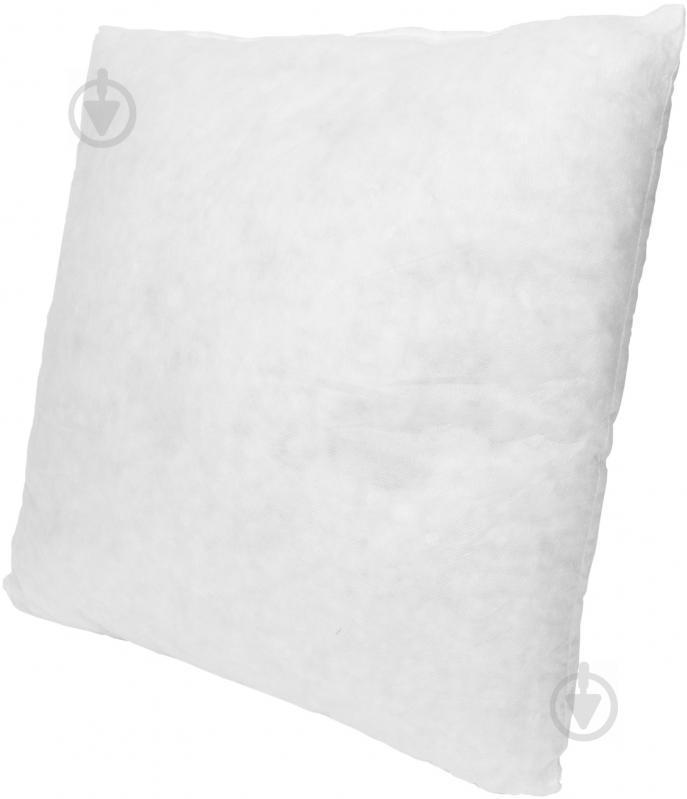 Подушка декоративная спандбонд 40x40 см белый - фото 2