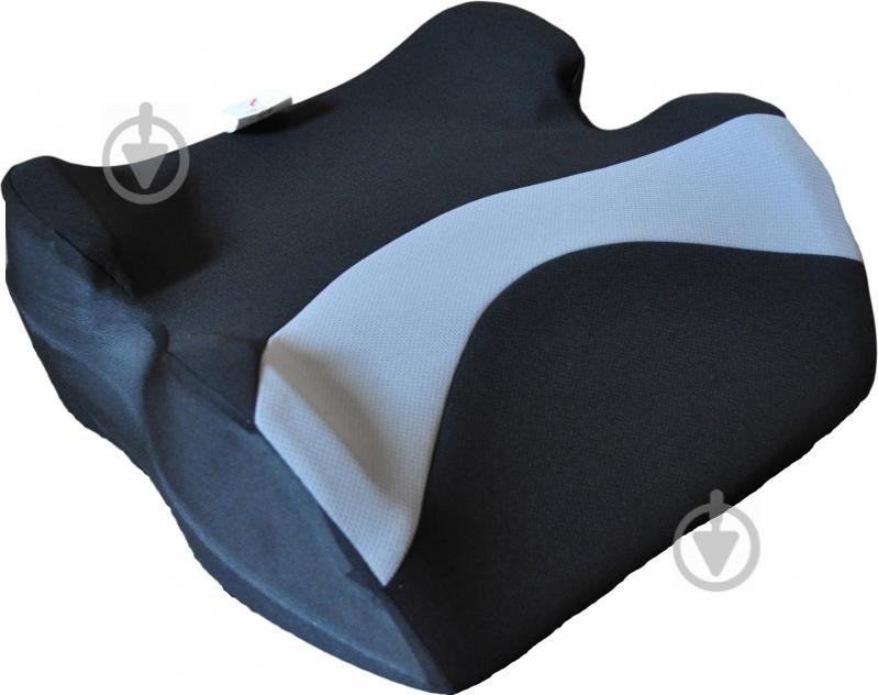 Автокрісло-бустер Sprint «Junior» 22-36 кг чорний із сірим - фото 1