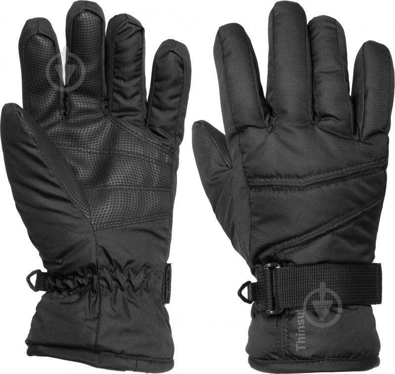 Перчатки Etirel Ronn р. 6 190036 черный - фото 1