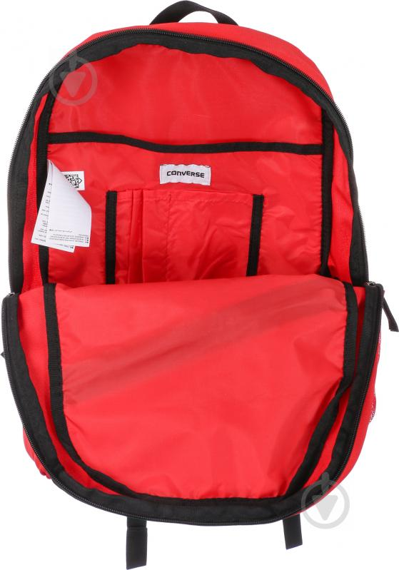 Рюкзак Converse Speed Backpack (Wordmark) красный 10003913-600 - фото 4