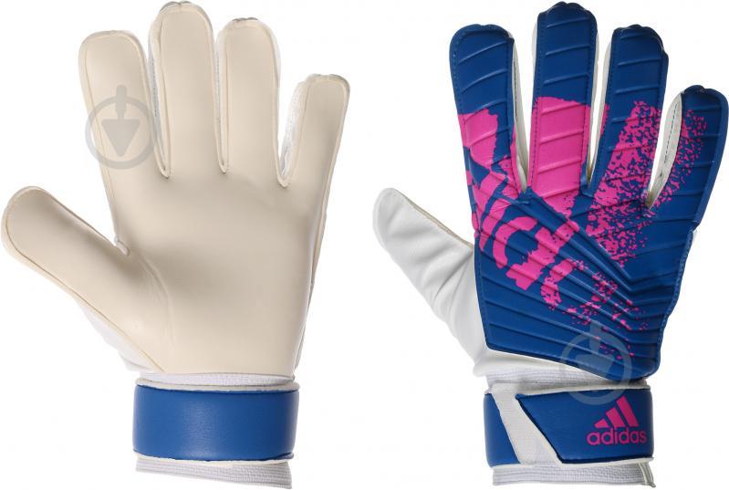 Вратарские перчатки Adidas X TRAINING AZ3695 р. 8,5 - фото 1