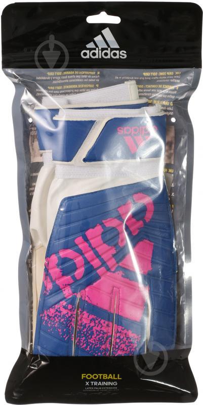 Вратарские перчатки Adidas X TRAINING AZ3695 р. 8 - фото 4