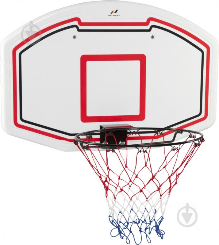 Баскетбольний щит з кільцем Pro Touch Basket Board Set 71685-950001 90x60 см - фото 1