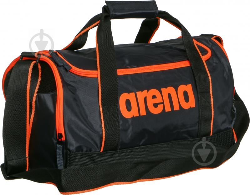 41b97c2c3341 Спортивная сумка Arena Spiky 2 Small 1E007-56 серый с оранжевым - фото 2