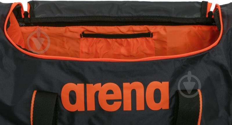 80fc9a66d2d6 Спортивная сумка Arena Spiky 2 Small 1E007-56 серый с оранжевым - фото 4