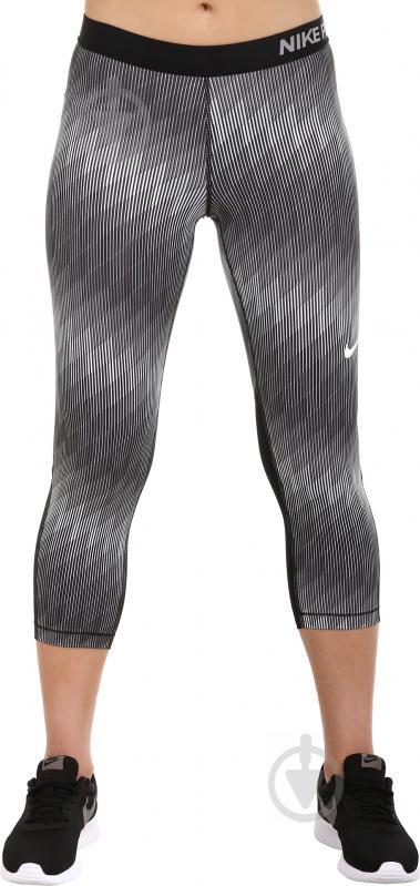 Штани Nike W NP CL Cpri Stairstep р. L чорний 865948-010 - фото 1