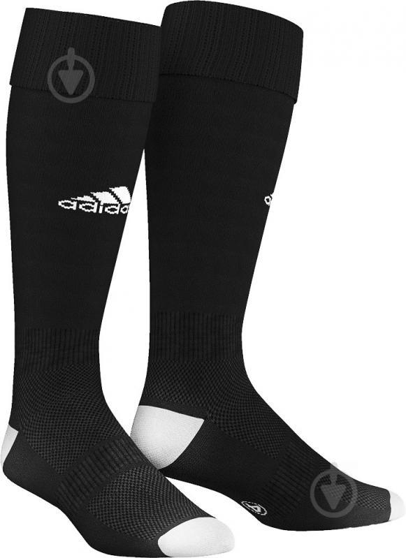 Гетры футбольные Adidas Milano 16 MILANO 16 AJ5904 р. 43-45 черный - фото 1