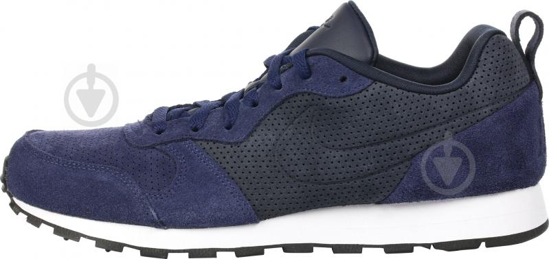 Кроссовки Nike MD RUNNER 2 LEATHER PREM AS р.10 синий 819834-400 - фото 1