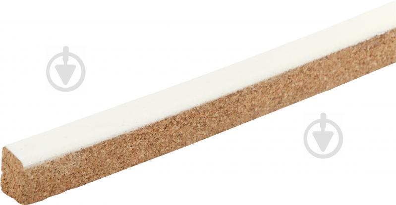 Компенсатор для пола пробковый Corksill гибкий 9,5х15x900 мм белый
