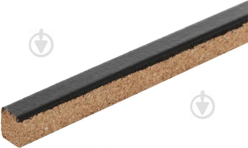 Компенсатор для пола пробковый Corksill гибкий 9,5х15x900 мм венге