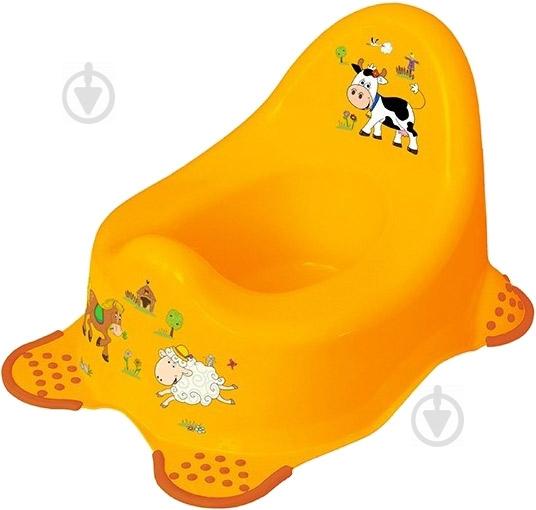 Горщик Prima Baby Funny Farm жовтий 8722.456 - фото 1
