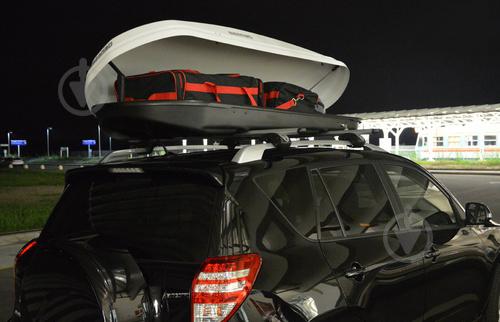 Аэродинамический бокс MENABO DIAMOND white 500л - фото 5