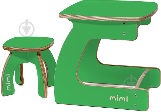 Стілець дитячий Мімі mi2-1-1/0619 Карапуз 1-3 роки зелений - фото 3