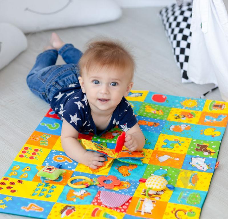 Игровой коврик Macик с прорезывателем МС 040601-01 - фото 4