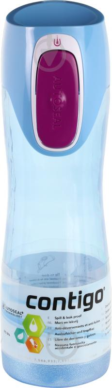 Пляшка спортивна Contigo Rush 550 мл 6800019 - фото 1