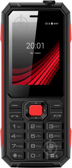 Мобільний телефон Ergo F248 Defender Dual Sim black - фото 1