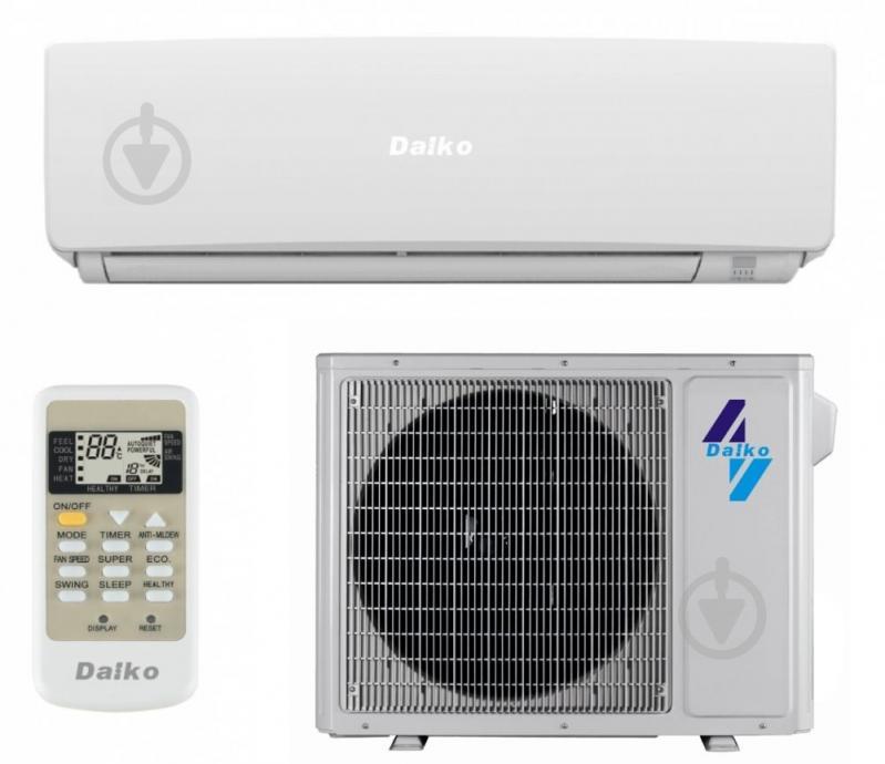 Кондиціонер Daiko ASP-H09IN (Inverter) - фото 1