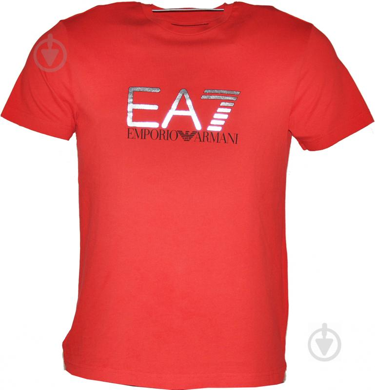 Футболка EA7 6YPT56-PJ30Z-1451 6YPT56-PJ30Z-1451 L красный - фото 1