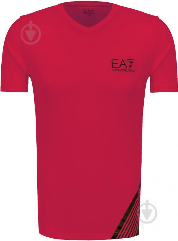 Футболка EA7 6YPT67-PJ03Z-1451 р. M красный - фото 1