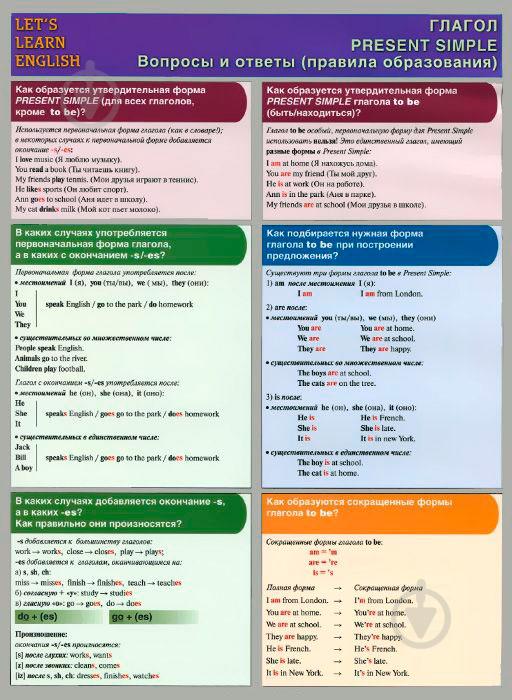 Школьная английская грамматика в упражнениях с ответами
