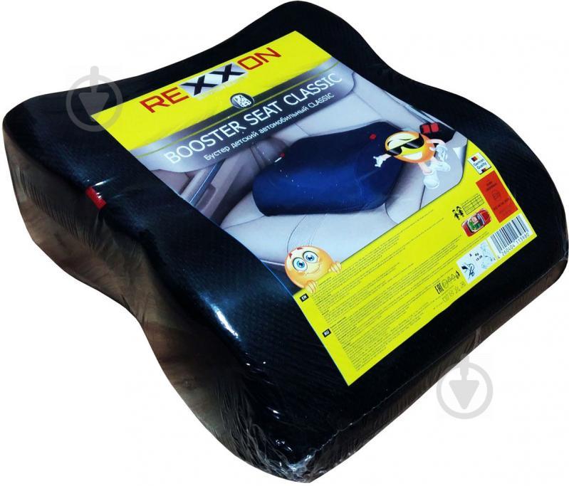 Автокрісло-бустер Rexxon Bubu дитяче чорний 3-1-3-21-1 - фото 1