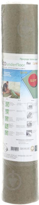 Підкладка ізоляційна Steico Underfloor Flex 5х1100х5000 мм
