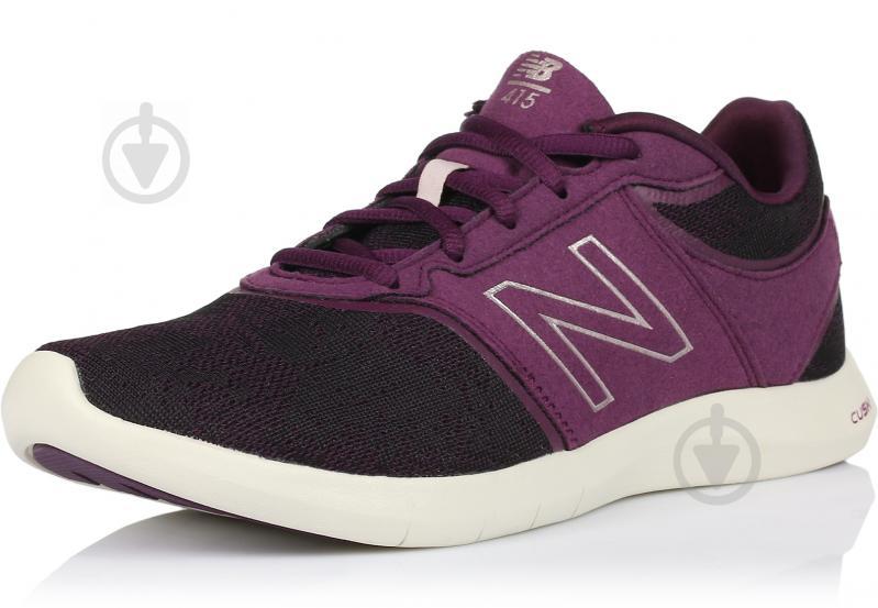 Кроссовки New Balance 415 р. 6 черный с фиолетовым WL415OC - фото 2