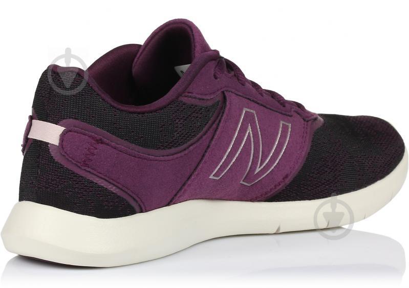 Кроссовки New Balance 415 WL415OC р. 6 черный с фиолетовым - фото 3