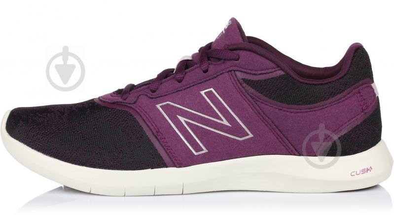 Кроссовки New Balance 415 WL415OC р. 6 черный с фиолетовым - фото 1