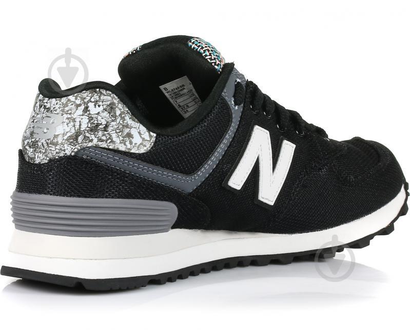 Кроссовки New Balance 574 р. 8 черный WL574ASB - фото 3