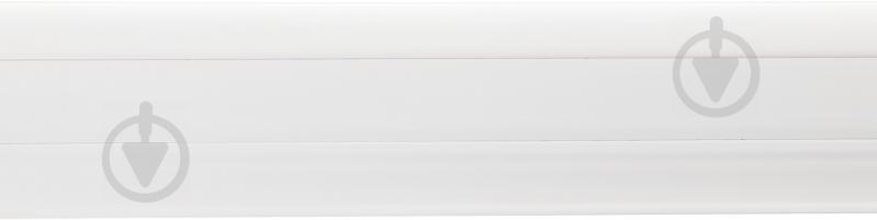 Плінтус ПВХ TIS білий 18х56х2500 мм - фото 2