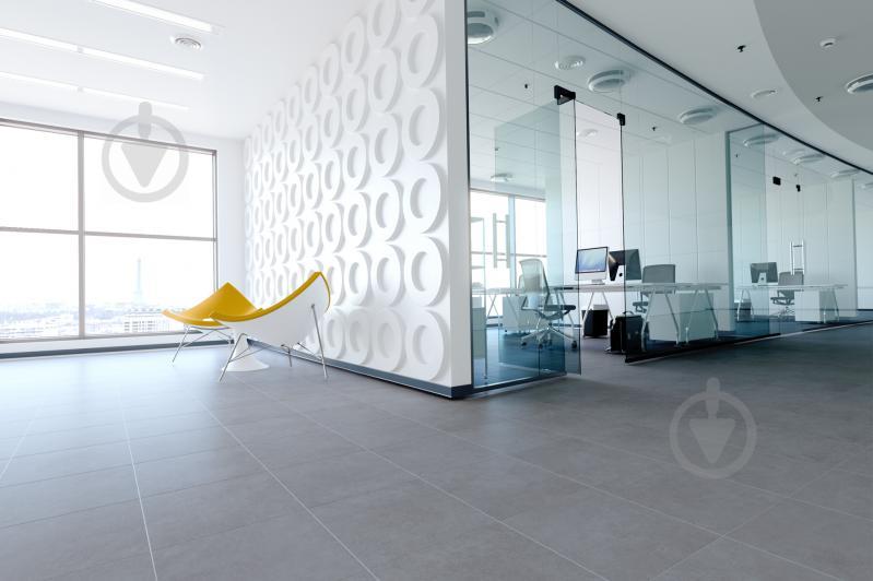Плитка Golden Tile Area Cement сірий 322830 40x40 - фото 2