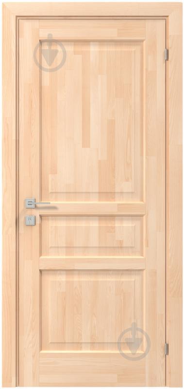 Дверне полотно Rodos Praktic ПГ 800 мм сосна - фото 1