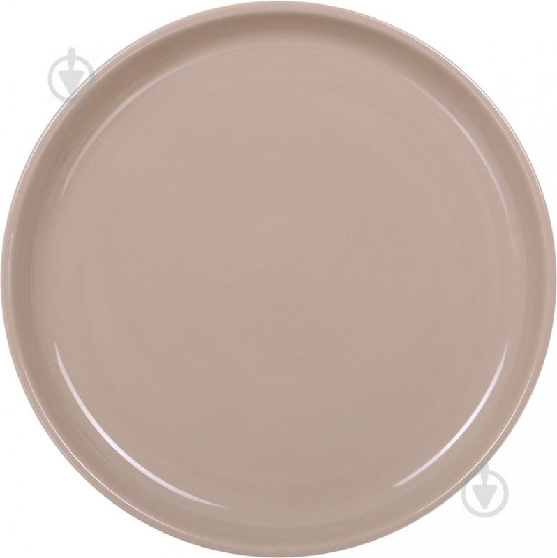 Тарелка подставная Spirit 26 см коричневая Bella Vita