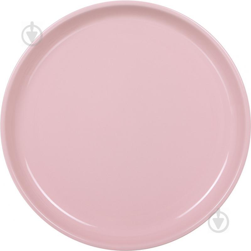 Тарелка подставная Spirit 26 см розовая Bella Vita