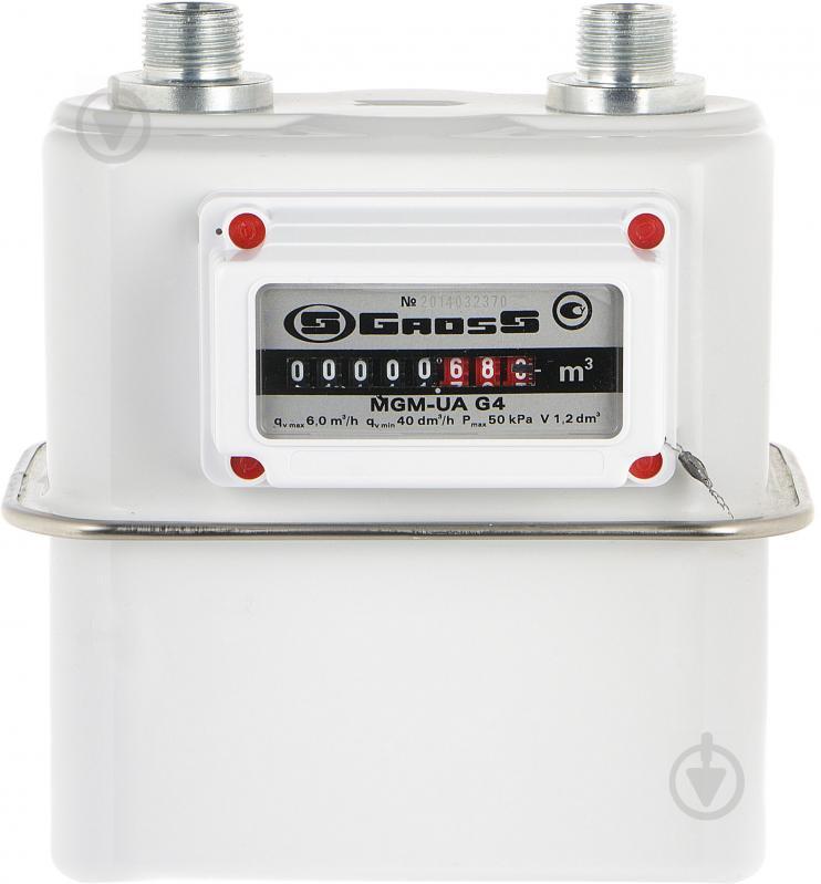 Лічильник газу Gross GAS MGM-UA G 4,0 - фото 1