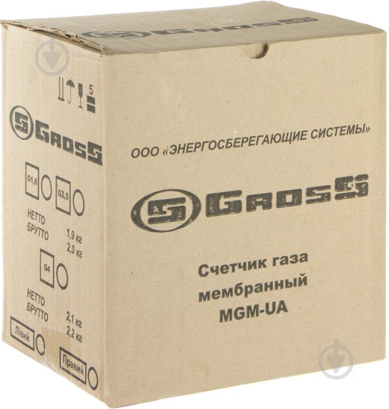 Лічильник газу Gross GAS MGM-UA G 4,0 - фото 3