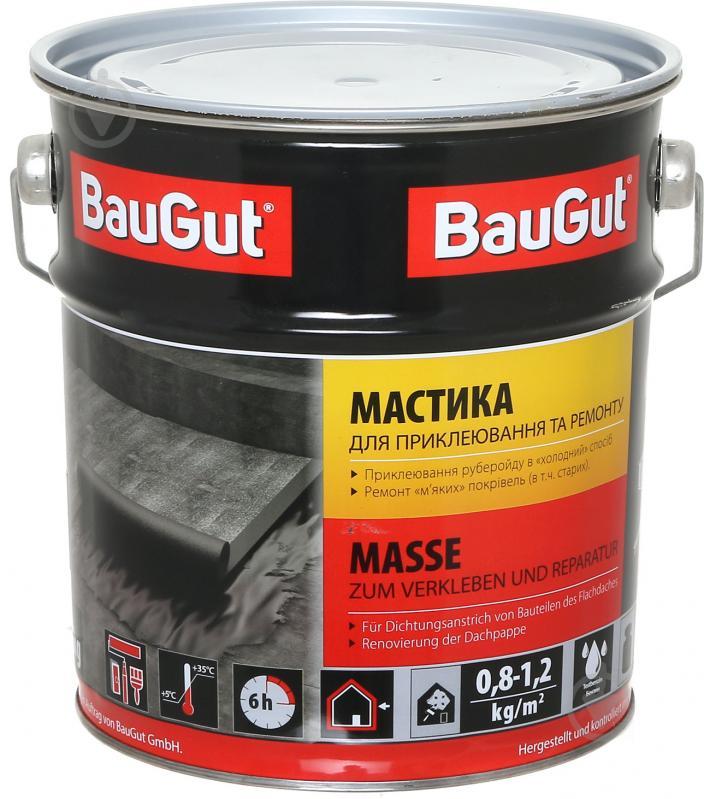 Мастика бітумна BauGut для приклеювання та ремонту 3,5 кг - фото 1