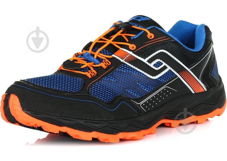 Кроссовки Pro Touch Ridgerunner V M 269942-900050 р. 11 черный с синим - фото 2
