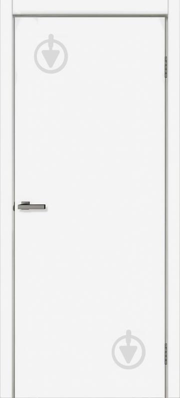 Дверне полотно ОМіС Cortex B ПГ 800 мм білий - фото 1