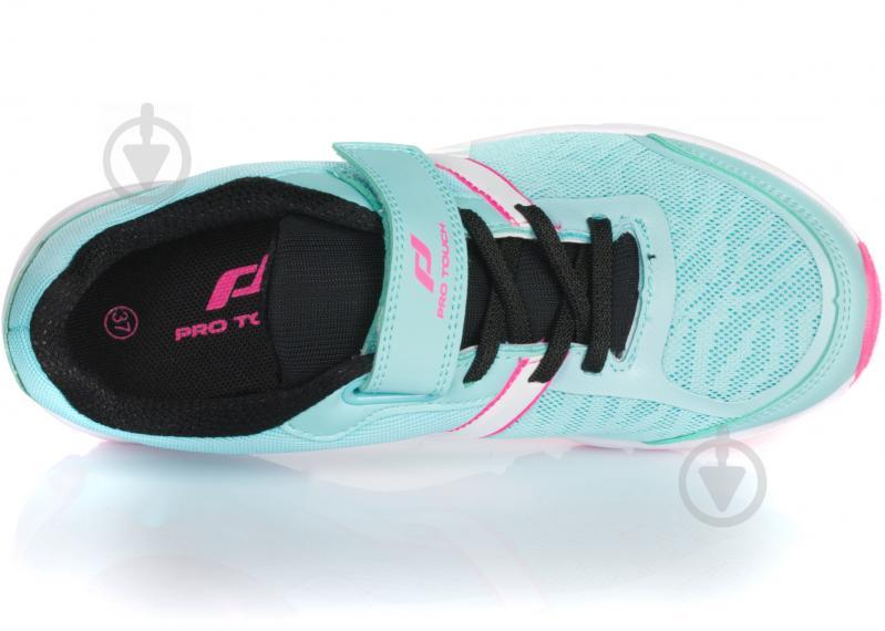 Кроссовки Pro Touch OZ Pro VI V/L JR 261693-905639 р. 3.5 бирюзово-розовый - фото 4